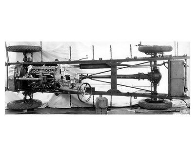 1924 Lincoln Chassis Factory Photo uc6522