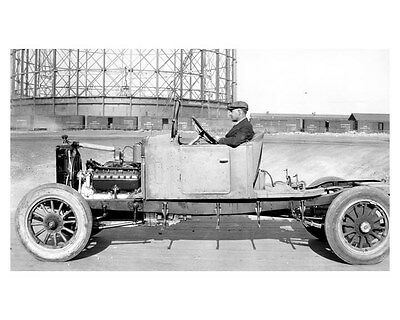 1924 Lincoln Chassis Factory Photo uc6521