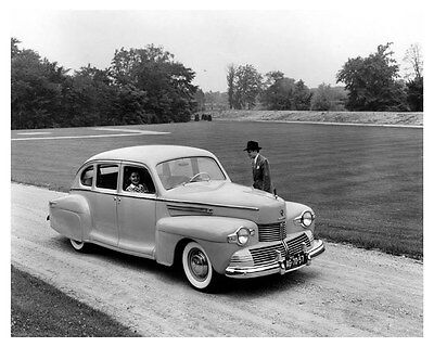 1942 Lincoln Zephyr Factory Photo uc6694