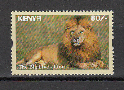 2017 Kenya Big 5 NEW ISSUE CATS!! May 10th 80/- Lion 105/- Leopard  MNH