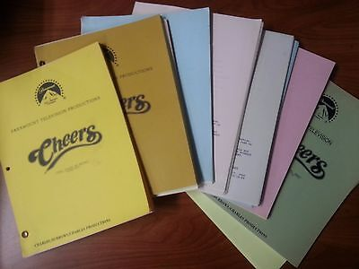Cheers Scripts From 1983-87  Many Episodes To Choose From