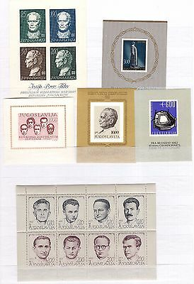 A27094/ Yougoslavie Yougoslavia Lot Blocs 1961 / 1973 Neufs * / Mh 216 €