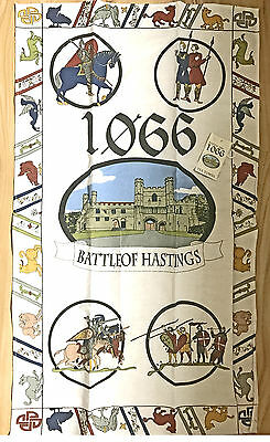 CLEARANCE x110 1066 Battle of Hastings Tea Towels 100% Cotton JOB LOT