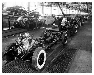 1948 1949 Lincoln Chassis Factory Photo uc6714