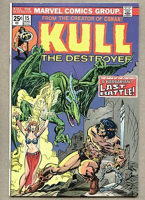Kull The Conquerer #15-1974 fn The Destroyer / Mike Ploog Steve Ditko