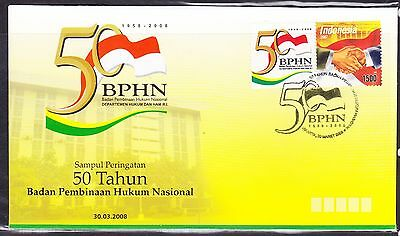 Indonesia 2008 - BPHN   First Day Cover