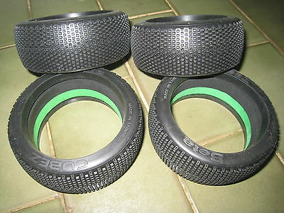 Beta Cubez 1/8 tyre insert set 4 tyres 4 inserts medium soft compound