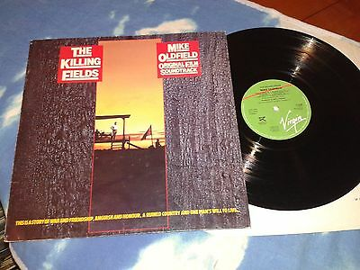 MIKE OLDFIELD ‎– The Killing Fields (Original Film Soundtrack)UK LP 1st pressing