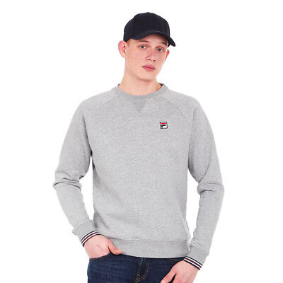 FILA - Pozzi Sweatshirt Heather Grey Pullover Rundhals