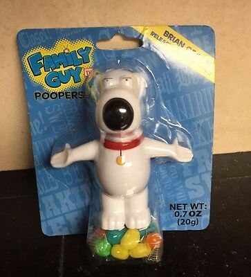 NEW Family Guy Poopers Pooping Brian Griffin Candy Jelly Bean Dispenser Funny