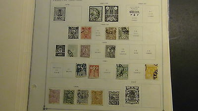 Middle East stamp collection on Scott Int'l pages to '61