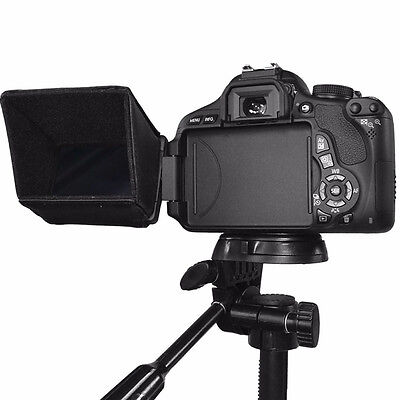 """Hot 3"""" LCD Screen Sun Shield Hood for DSLR Cameras and Camcorders"""