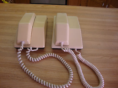 Two 1985 Northern Telecom Contempra Rotary Telephone