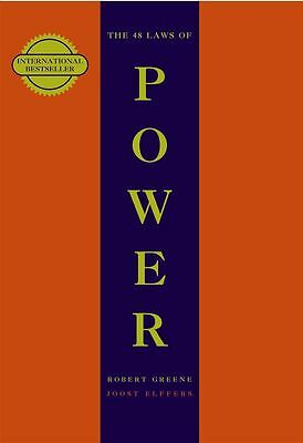 48 Laws Of Power by Robert Greene - Paperback - NEW - Book