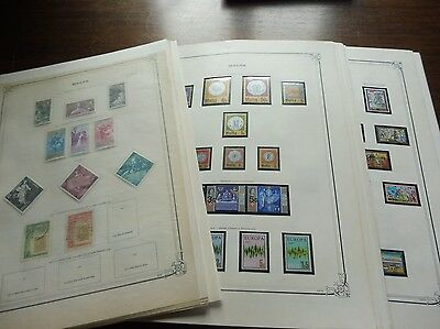 £££ MALTE - collection timbres stamps majorité MNH**  Airmail Blocs.. HIGH CV