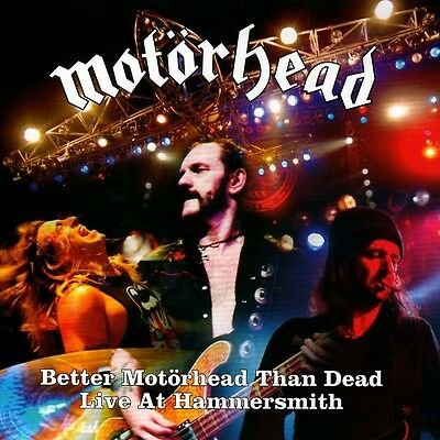 Motorhead - Better Motorhead Than Dead (4LP Vinyl Set) New & Sealed