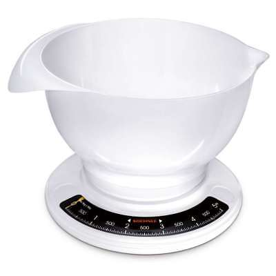 Soehnle Kitchen Scale Culina Pro, Analog, Fine Scale, Scale with Mixing Bowl 5kg