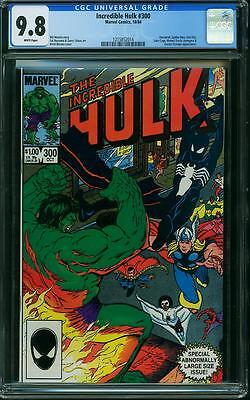 INCREDIBLE HULK # 300 US MARVEL 1984 special issue THOR SPIDER MINT 9.8 CGC