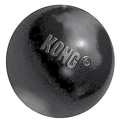 Dog Tough Rubber Ball Fetch Chew Toy Puncture Resistant, Medium/Large