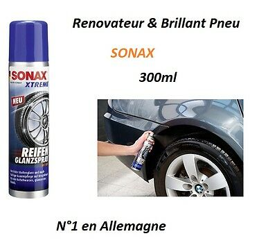 SONAX XTREM gel renovateur brillant a pneu 300ml pour Abarth