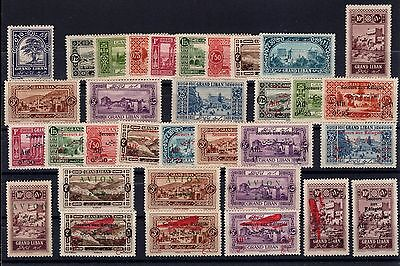 P26473/ Grand Liban / Lebanon / Lot 1925 – 1926 Neufs / Mint 210 €