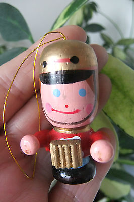 PAINTED CARVED WOOD ACCORDION ORNAMENT ©RUSS BERRIE&CO-From LIBERACE ESTATE Sale