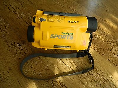 Sony Handycam Sports Pack Video 8 Spk-Tr1 Waterproof Case Cover