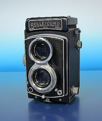 Rollei Rolleicord Photographica Kamera camera Doppeläugig twin eyed - (92246)