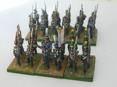 15 mm AB MINIATURES FRENCH NAPOLEONIC LIGHT INFANTRY REGIMENT PRO PAINTED