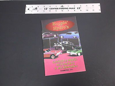 Hoppin' Hydro's Model Low Rider Hydraulics & Accessoires Catalog  *vg-Cond*