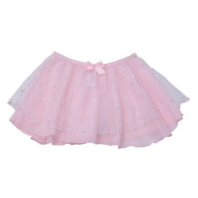 Danshuz Toddler Girls Size 2T-3T Pink Skirt Hologram Dot Dancewear