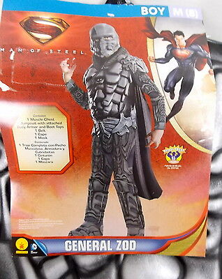 Rubies General Zod Halloween Costume Superman Villain Size M (8) #H121