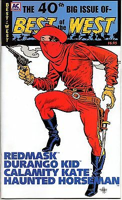 Best of the West No. 40 2004 8.0 VF AC Comics  Redmask