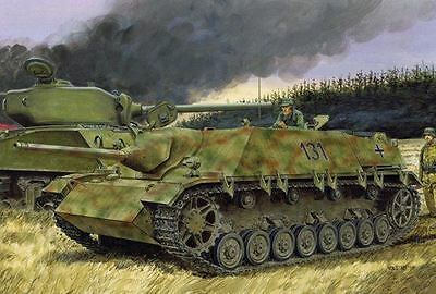 Dragon Model Kit - Jagdpanzer IV L/48 with Zimmerit Tank - 1:35 Scale - 6369
