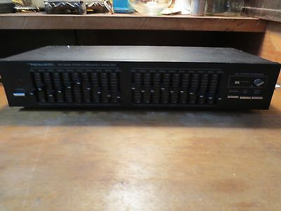 VINTAGE REALISTIC Ten-Band Stereo Frequency Equalizer with IMS stereo expander