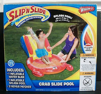 New Wham-O Slip 'n Slide Crab Slide Pool Inflatable Ages 3 - 6