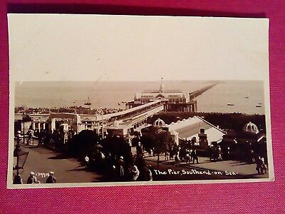 Postcard The Pier Southend On Sea Not Postally Used