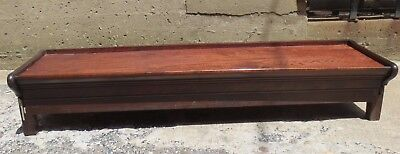 "Gunn Furniture 12"" Deep BASE AND TOP only Mahogany wood Barrister Bookcase"