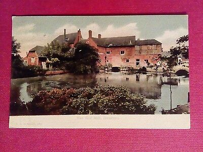 Postcard The Old Mill Downton Postally Used