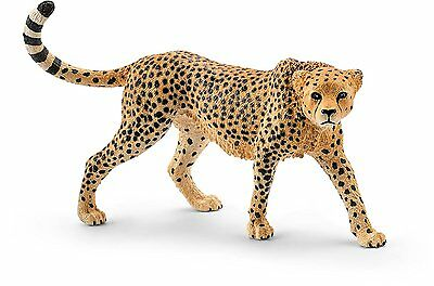 Schleich Africa Female Cheetah Toy Action Figures and Statues Hand Painted