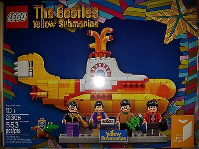 LEGO IDEAS Yellow Submarine #21306 |BRAND NEW FACTORY SEALED