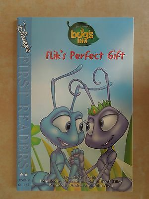 Disneys ' A Bugs Life ' Flik's Perfect Gift ' Book ' General Mills Promo ' Rare