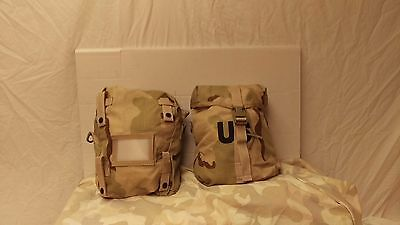 5 desert molle sustainment pouches...military surplus