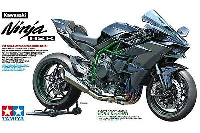 Tamiya Model Kit - Kawasaki Ninja H2R Motorcycle - 1:12 Scale - 14131 - New