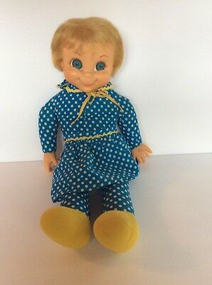 Vintage Original Mrs Beasley Doll Mattel Family Affair String Pulls And Retracts