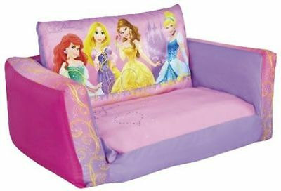Disney Princess Inflatable Flip Out Mini Sofa & Lounger - Ariel, Rapunzel, Belle