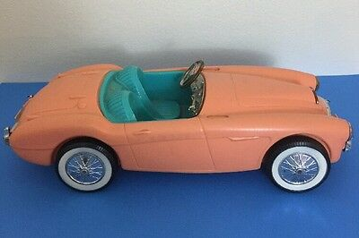 "Vintage Barbie Car 1962 Austin Healey Convertible 18"" Length"