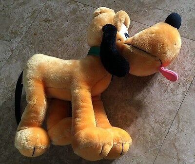 "Applause Walt Disney Pluto Dog 13"" Plush Stuffed Animal #14668"