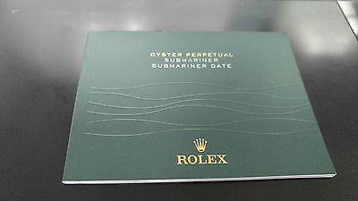USED rolex Submariner Date Manual Booklet English version