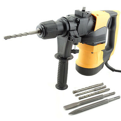 1800W Demolition Rotary Drill Jack Hammer Commercial Jackhammer 3-in-1 SDS Plus